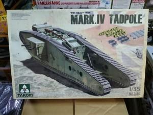 TAKOM タコム 1/35 マーク4 Mark.IV  TADPOLE  タッドポール