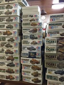 ミリタリー、戦車、軍用車両のプラモデル大量の図04