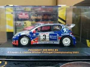 イクソ 1/43 Peugeot 206 WRC   RAM065