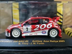イクソ 1/43 Peugeot 206 WRC   RAM133