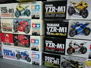 ヤマハ YZR  1/12スケール バイク オートバイ プラモデル 買取強化中  まとめてお売りください