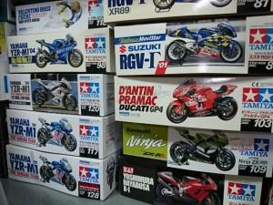 愛知県名古屋市より、タミヤ 1/12 カワサキ Ninja ZX-RR 他 バイク プラモデルをお譲り頂きました。