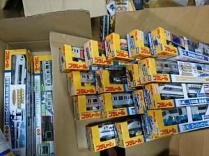 プラレールを神奈川県川崎市/東京都大田区から宅配で買取り致しました