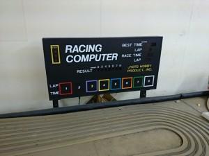 スロットカー コース 1/64 8コース