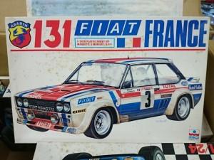 ESCI エッシー 1/24 フィアット 131 アバルト FIAT 131 ABARTH FRANCE 3007