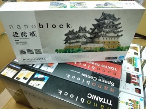 ナノブロック 姫路城  お売りください。買取しています。