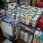タミヤ,EBBRO,フジミ,アオシマ,ハセガワなどのプラモデル多数を静岡県静岡市から出張でお売りいただきました