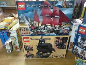 レゴ  パイレーツオブカリビアン 4195 アン王女の復習号 / ブラックパール号    LEGO買取りしています。お売りください。