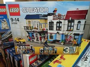 レゴ クリエイター  31026  バイクショップ  と カフェ    LEGO買取りしています。お売りください。