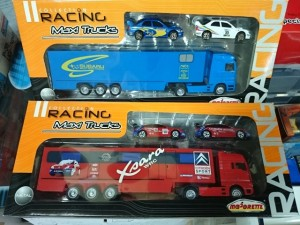 マジョレット  レーシング  コレクション マキシ トラック  スバル  シトロエン   ラリーカー ミニカー  買取強化中。