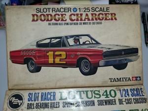 タミヤ 1/25 スロットレーサー ダッジ チャージャー   スロットカー プラモデル/模型の買取しております。是非お売りください。