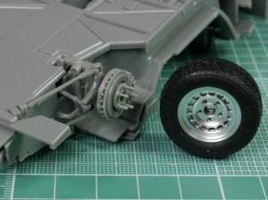 フジミ模型 1/24 エンスージアストモデル ランボルギーニ・カウンタック 製作指南 フロントサス