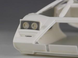 フジミ模型 1/24 エンスージアストモデル ランボルギーニ・カウンタック 製作指南 リトラライト調整