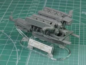 フジミ模型 1/24 エンスージアストモデル ランボルギーニ・カウンタック 製作指南 エンジン