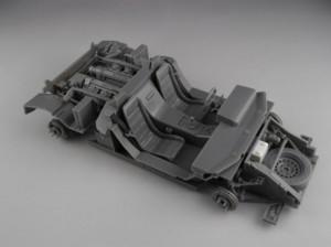 フジミ模型 1/24 エンスージアストモデル ランボルギーニ・カウンタック 製作指南 素組み シャーシ