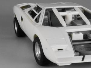 フジミ模型 1/24 エンスージアストモデル ランボルギーニ・カウンタック 製作指南 足回り調整