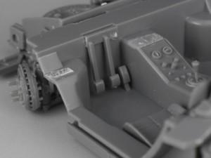 フジミ模型 1/24 エンスージアストモデル ランボルギーニ・カウンタック 製作指南 ペダル配置