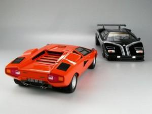 フジミ模型 1/24 エンスージアストモデル ランボルギーニ・カウンタック 製作指南 作例