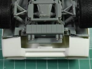フジミ模型 1/24 エンスージアストモデル ランボルギーニ・カウンタック 製作指南 シャーシの調整