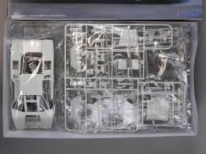 フジミ模型 1/24 エンスージアストモデル ランボルギーニ・カウンタック 製作指南 開封 パーツ