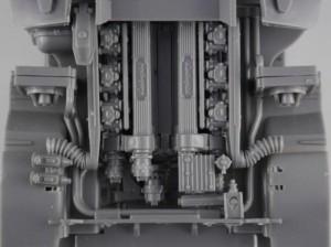 グラフィックス5フジミ模型 1/24 エンスージアストモデル ランボルギーニ・カウンタック 製作指南 エンジン