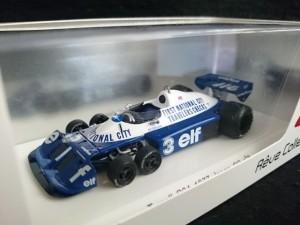 Reve レーヴコレクション  1/43 タイレル P34 1977 日本GP #3