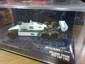 PMA 1/43 ウィリアムズ EW08B テスト 1982