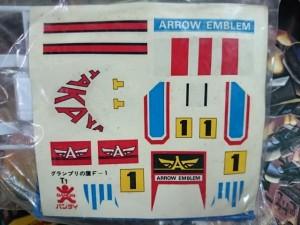 バンダイ アローエンブレム トドロキスペシャル T1 グランプリの鷹  付属シール