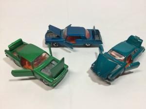 ロンスター クライスラー インペリアル、ジャガー MK-X、FIAT 2300S フル開閉
