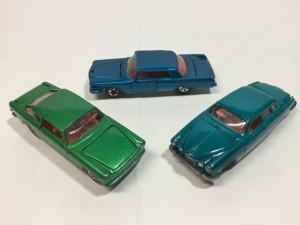 ロンスター クライスラー インペリアル、ジャガー MK-X、FIAT 2300S