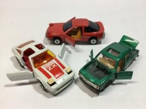 マジョレット  300ZX、プジョー504、セリカ   リトラ
