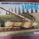 ドラゴン 1/35 28cm列車砲 K5(E) レオポルド 他 プラモデルを神奈川県横浜市から宅配にてお譲りいただきました