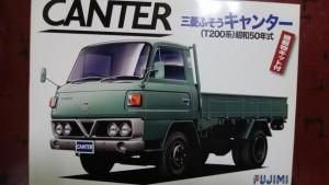 静岡県浜松市より フジミ 1/32 キャンター 他トラック プラモをお譲り頂きました。