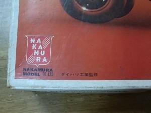 ナカムラ 1/20 ダイハツ フェローバギー ナカムラ 初期ロゴ