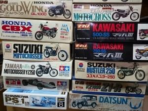 ナガノ ニットー 他 バイクプラモ買取ります。