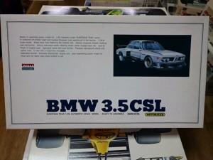 アリイ 1/24 BMW 3.5 CSL モーターライズ をお譲り頂きました。