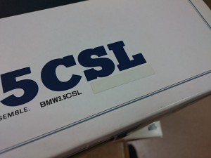 アリイ 1/24 BMW 3.5 CSL