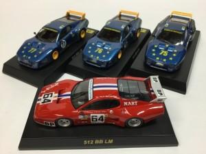 京商 1/64 フェラーリ 512BB/LM