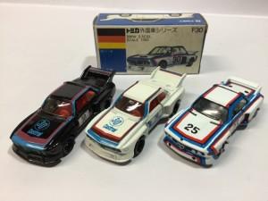 トミカ 外国車シリーズ 青箱  BMW レーシング