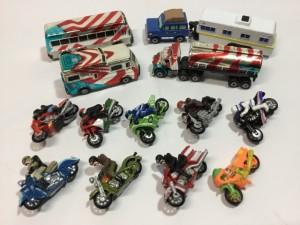 ガルーブ galoob   マイクロマシン  MicroMachines  トラック  バイク コレクション