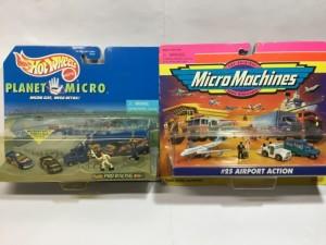 ガルーブ galoob   マイクロマシン  MicroMachines  空港セット