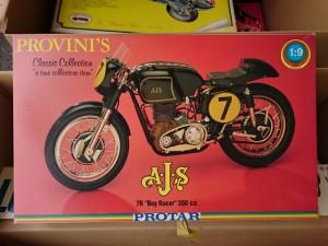 プロター 1/9  A J S  7R  boy Racer 350cc