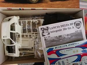 プロター 1/24 ランチア デルタ HF  インテグラーレ 16v Gr.A