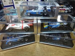 静岡県静岡市より、スパーク 1/43 マトラ リジェ 他 F1マシンミニカーを買取させて頂きました。