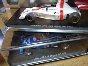 スパーク 1/43 シャドウ DN1 n25 スペインGP 1973