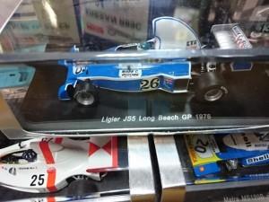 スパーク 1/43 リジェ JS5 ロングビーチGP 1976