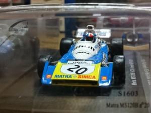 スパーク 1/43 マトラ Matra MS120B n20 フランスGP 1971