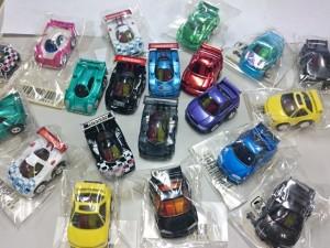 チョロQ  スカイライン R34 GT-R、 日産 R390、R90