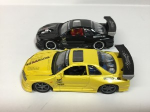 マッスルマシンスポコン ミニカー スカイライン GT-R R34