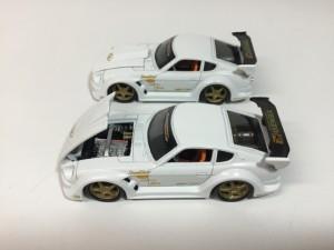 マッスルマシンスポコン ミニカー フェアレディ 240Z